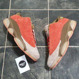 CLOT x Nike Jordan 13 Low - Sepia Stone